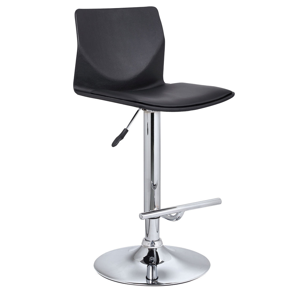 Magnificent Bromi Design Bf2610Bl Washington Adjustable Height Swivel Bar Stool Caraccident5 Cool Chair Designs And Ideas Caraccident5Info