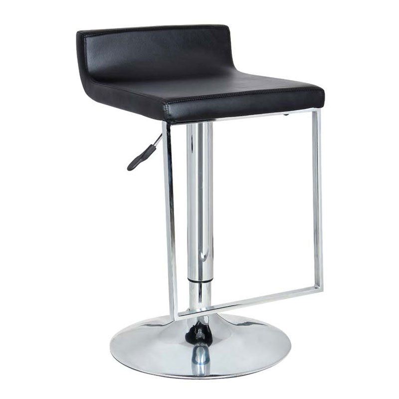Incredible Bromi Design Bf2630Bl Spencer Black Adjustable Height Swivel Bar Stool Caraccident5 Cool Chair Designs And Ideas Caraccident5Info