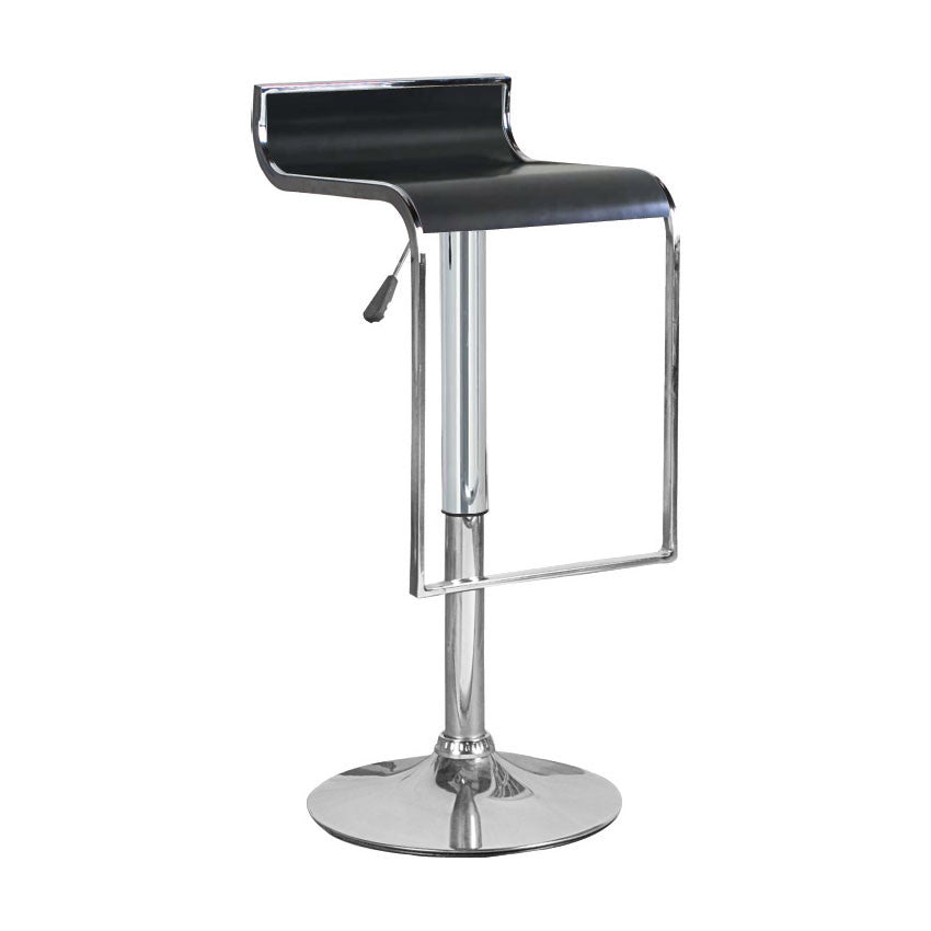 Prime Bromi Design Bf2640Bl Hudson Black Adjustable Height Swivel Bar Stool Caraccident5 Cool Chair Designs And Ideas Caraccident5Info