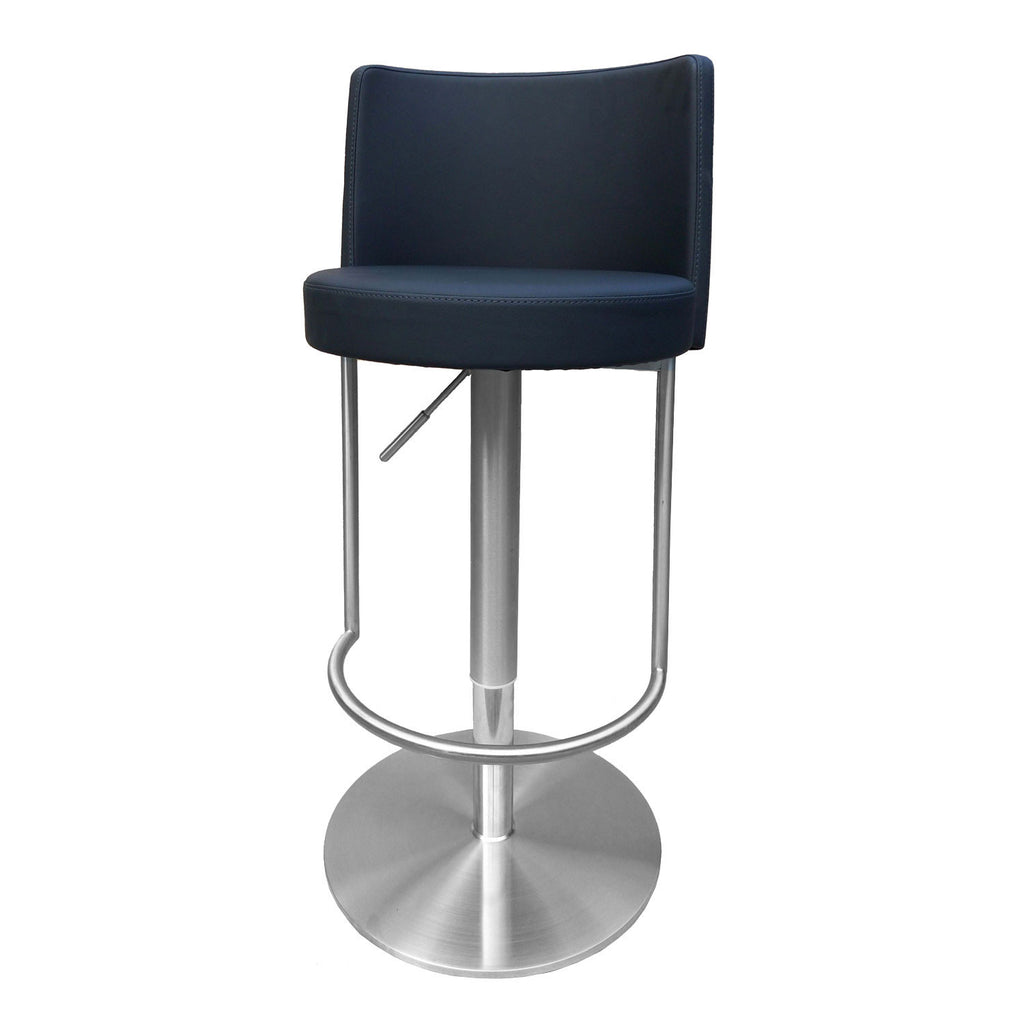 Admirable Bromi Design Bf3230Bl Bowery Black Adjustable Height Swivel Bar Stool Caraccident5 Cool Chair Designs And Ideas Caraccident5Info