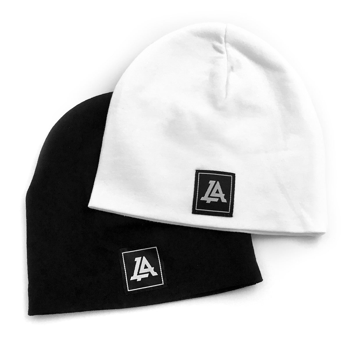 Lost Art Canada - black and white baby winter toques