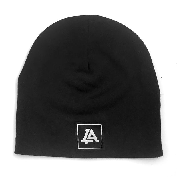 Lost Art Canada - black baby winter toque front view