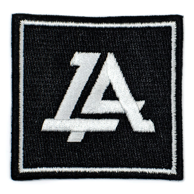 Lost Art Canada - black logo patch front view