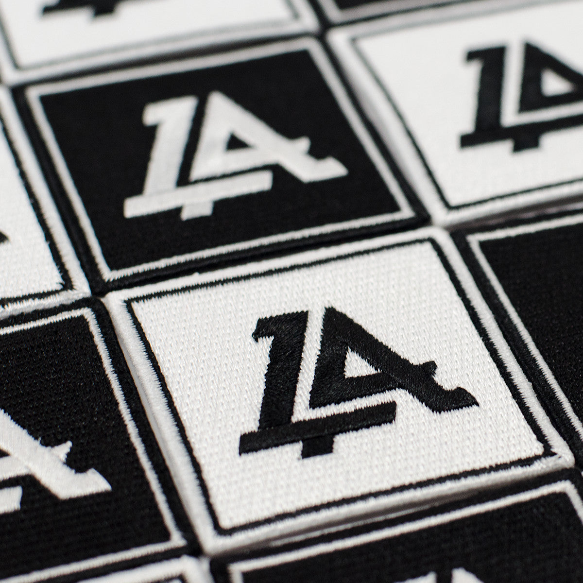 Lost Art Canada - black and white logo patches