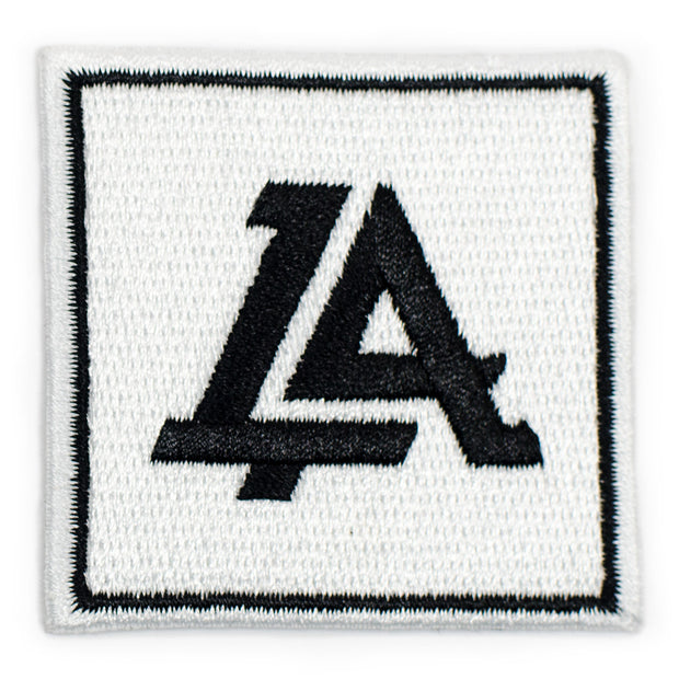 Lost Art Canada - white logo patch front view