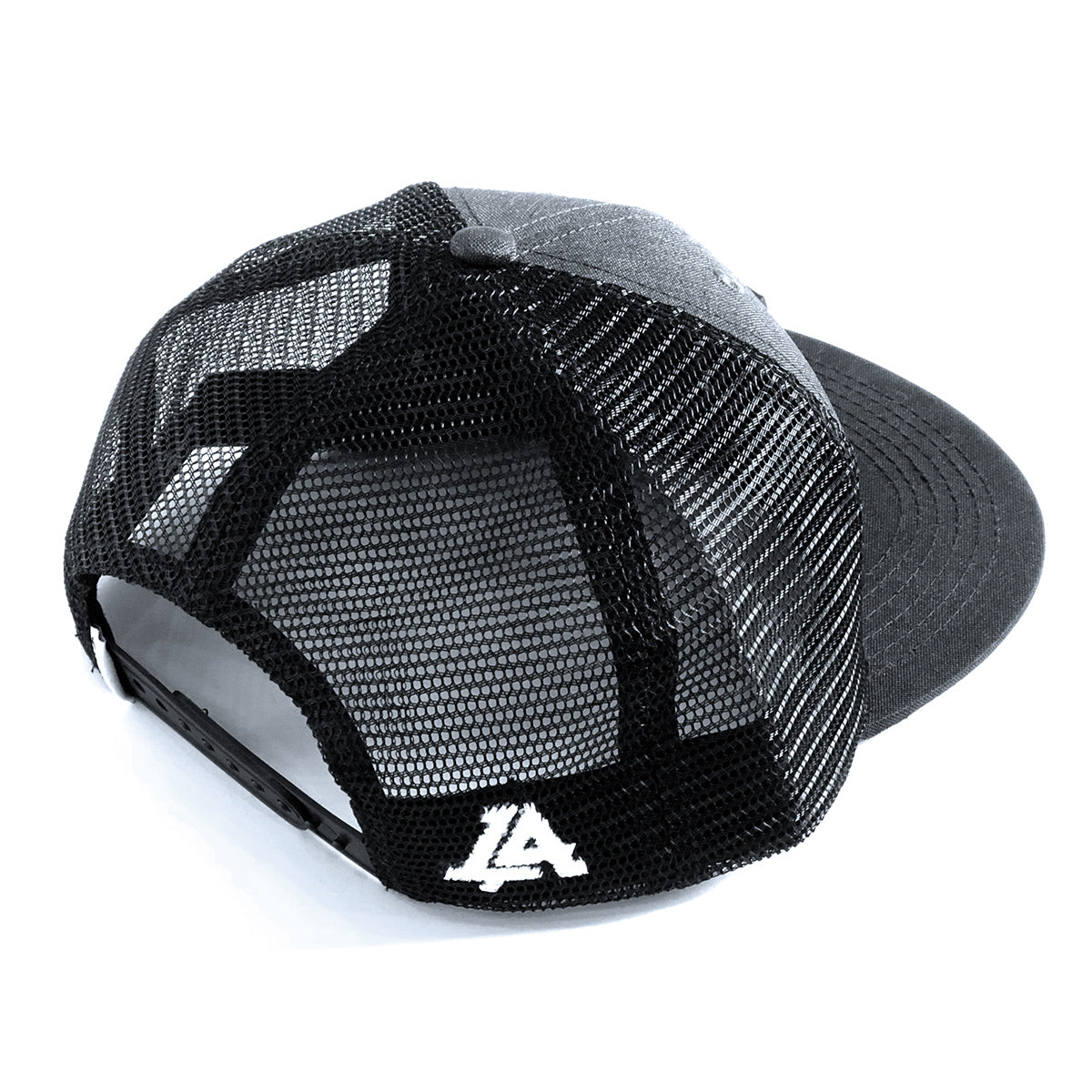 Lost Art Canada - grey and black patch snapback hat back view