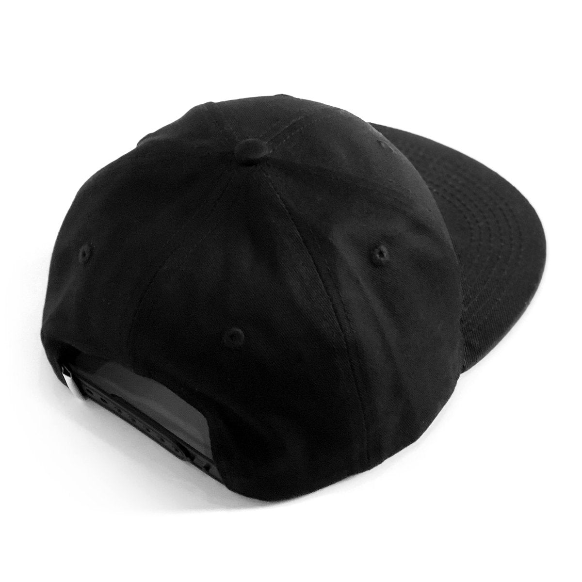 Lost Art Canada - white maple leaf black snapback hat back view