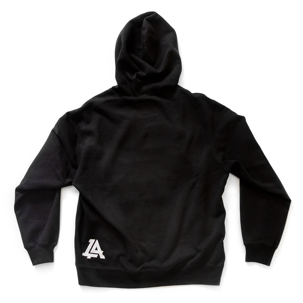 Lost Art Canada - black icon hoodie sweatshirt back view