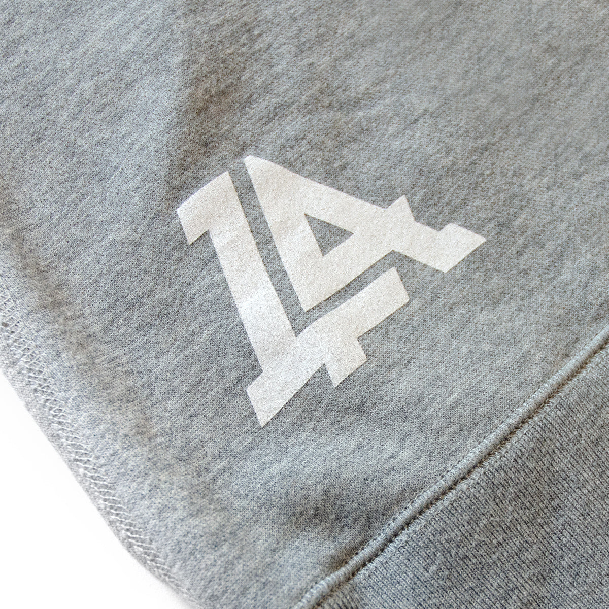 Lost Art Canada - grey icon womens hoodie sweatshirt back logo view