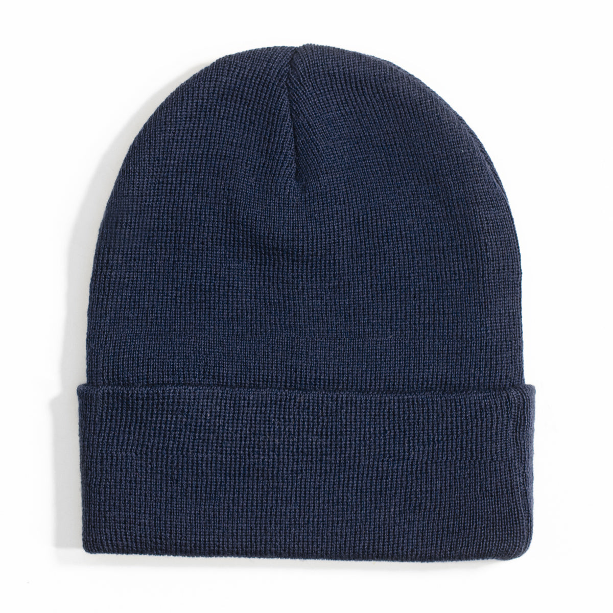 Lost Art Canada - blue wool winter toque back view