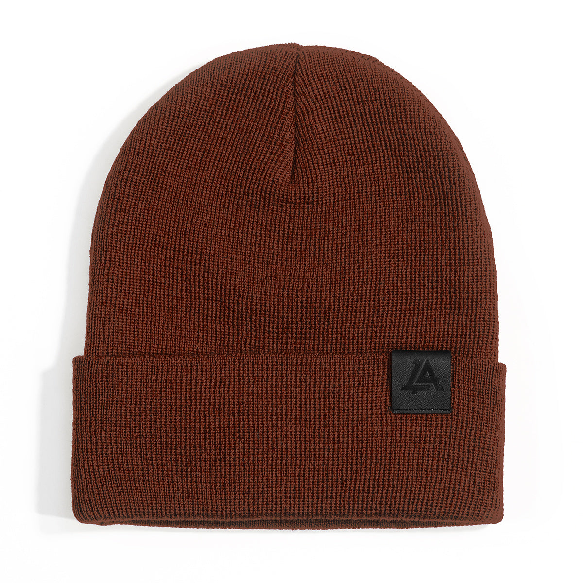 Lost Art Canada - red wool winter toque front view