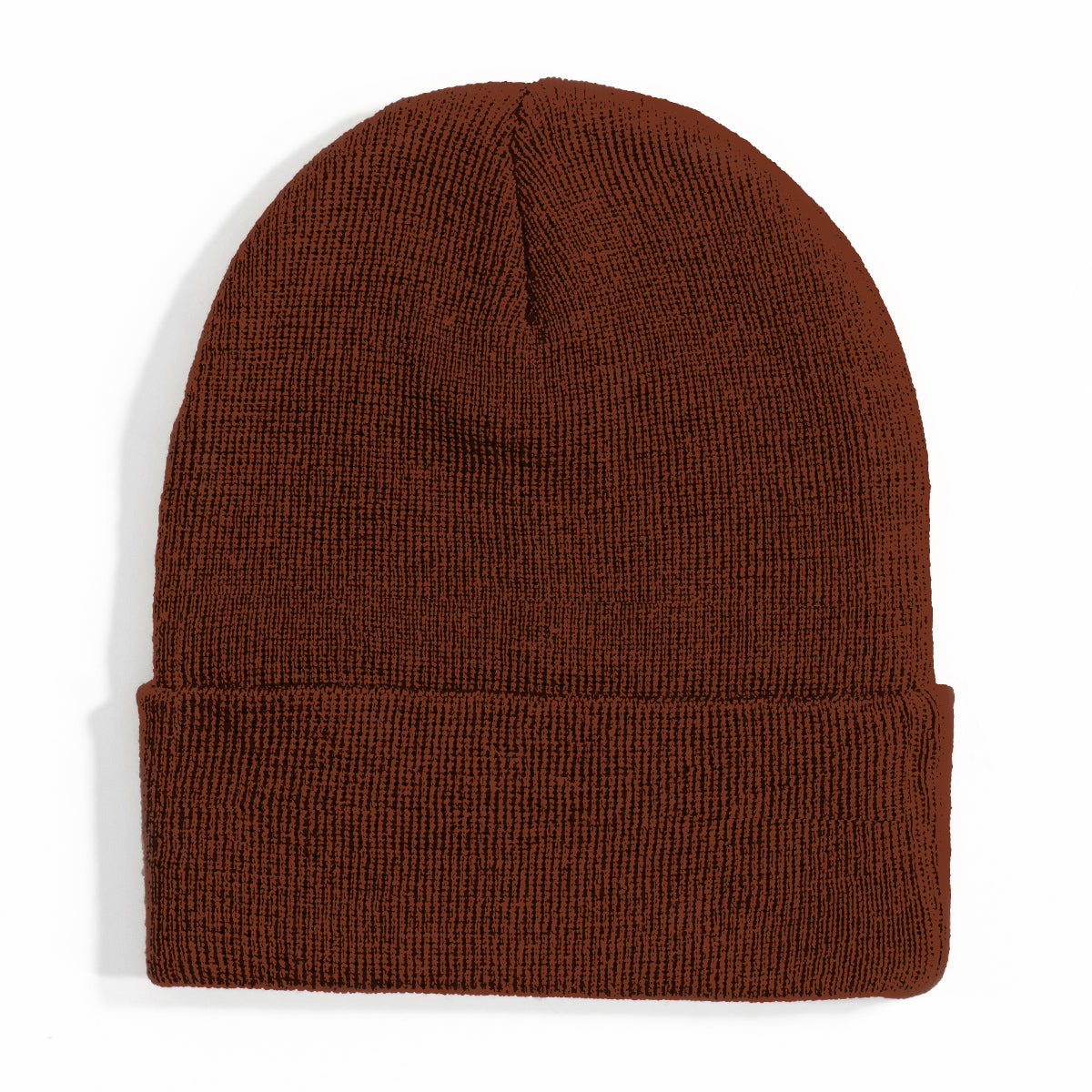 Lost Art Canada - red wool winter toque back view