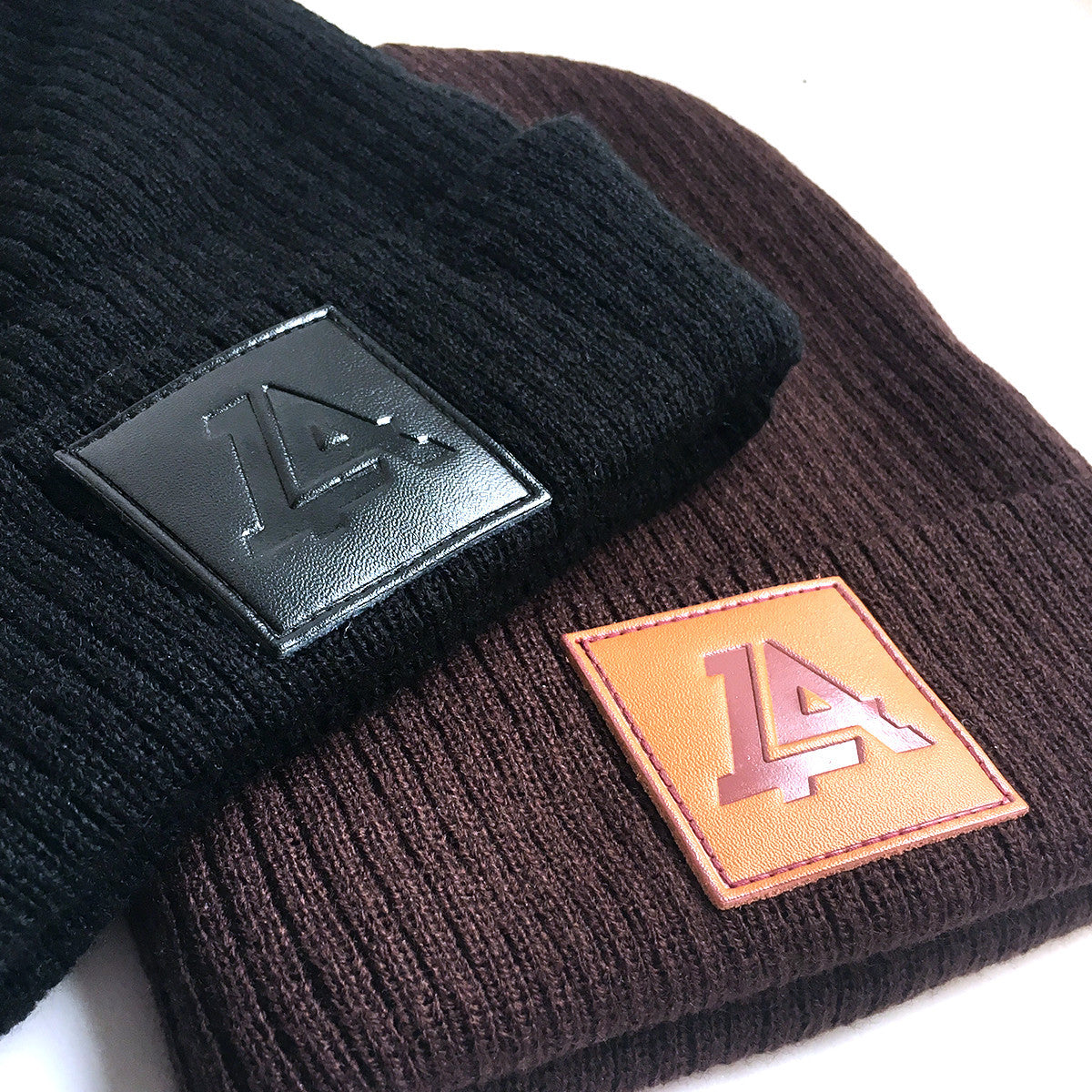 Lost Art Canada - black and brown sidekick winter toques