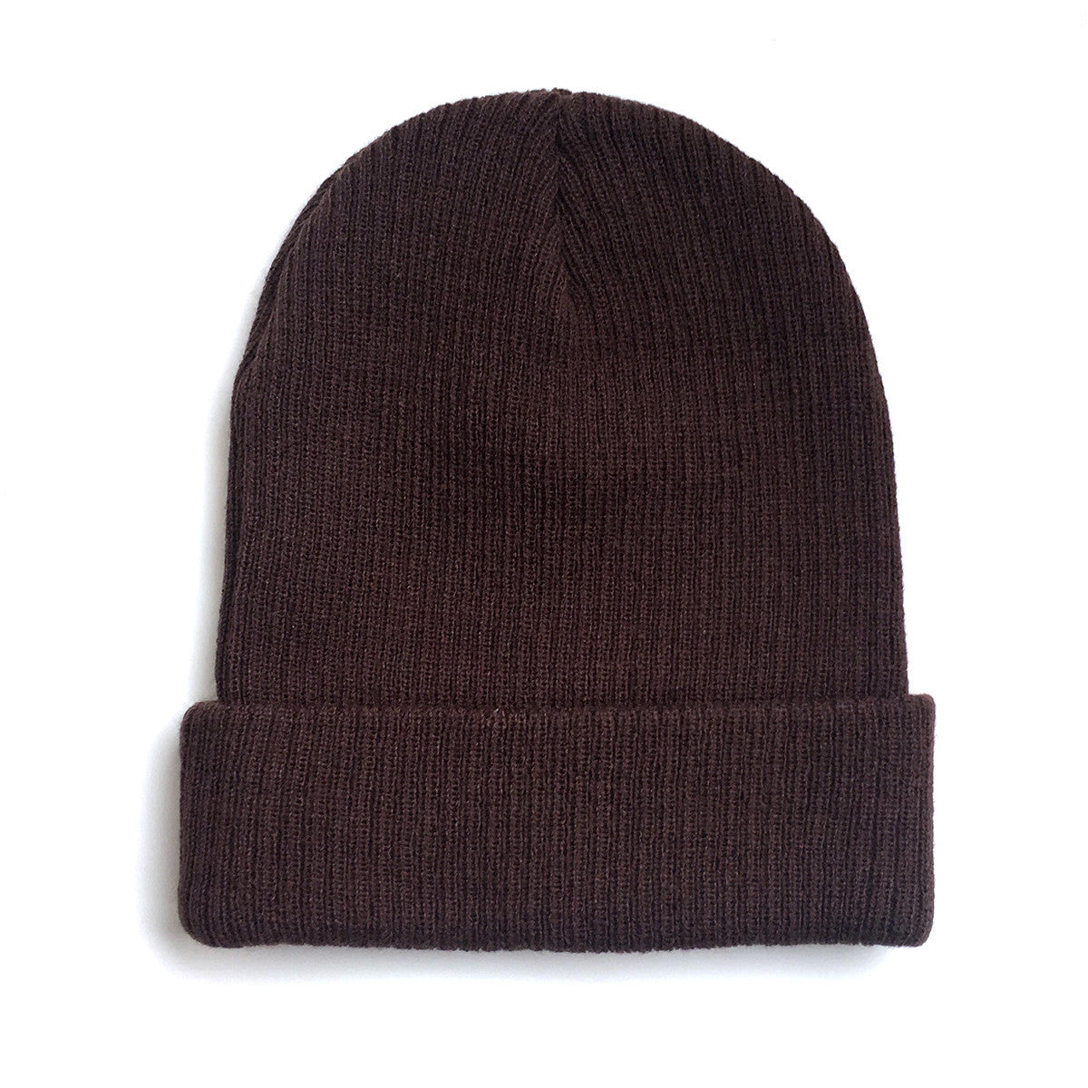 Lost Art Canada - brown sidekick winter toque back view