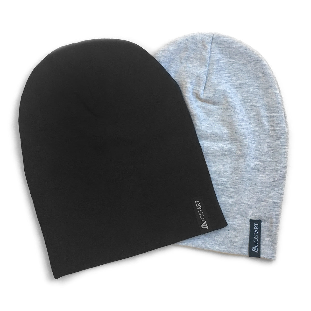 Lost Art Canada - black and grey toddler winter toques