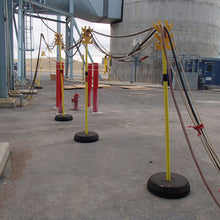 Portable Electric Cable Support Towers
