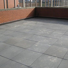 Rubber Rooftop Pavers - Grey
