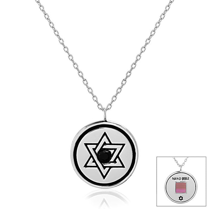Circle Star of David - WearABible Jewelry