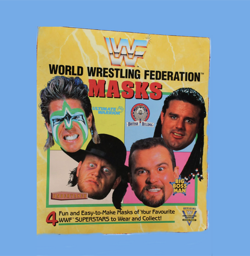 WWF 1991 Mask Book