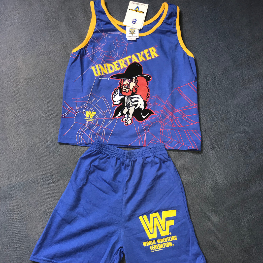 Undertaker Kids Vest + Short Set