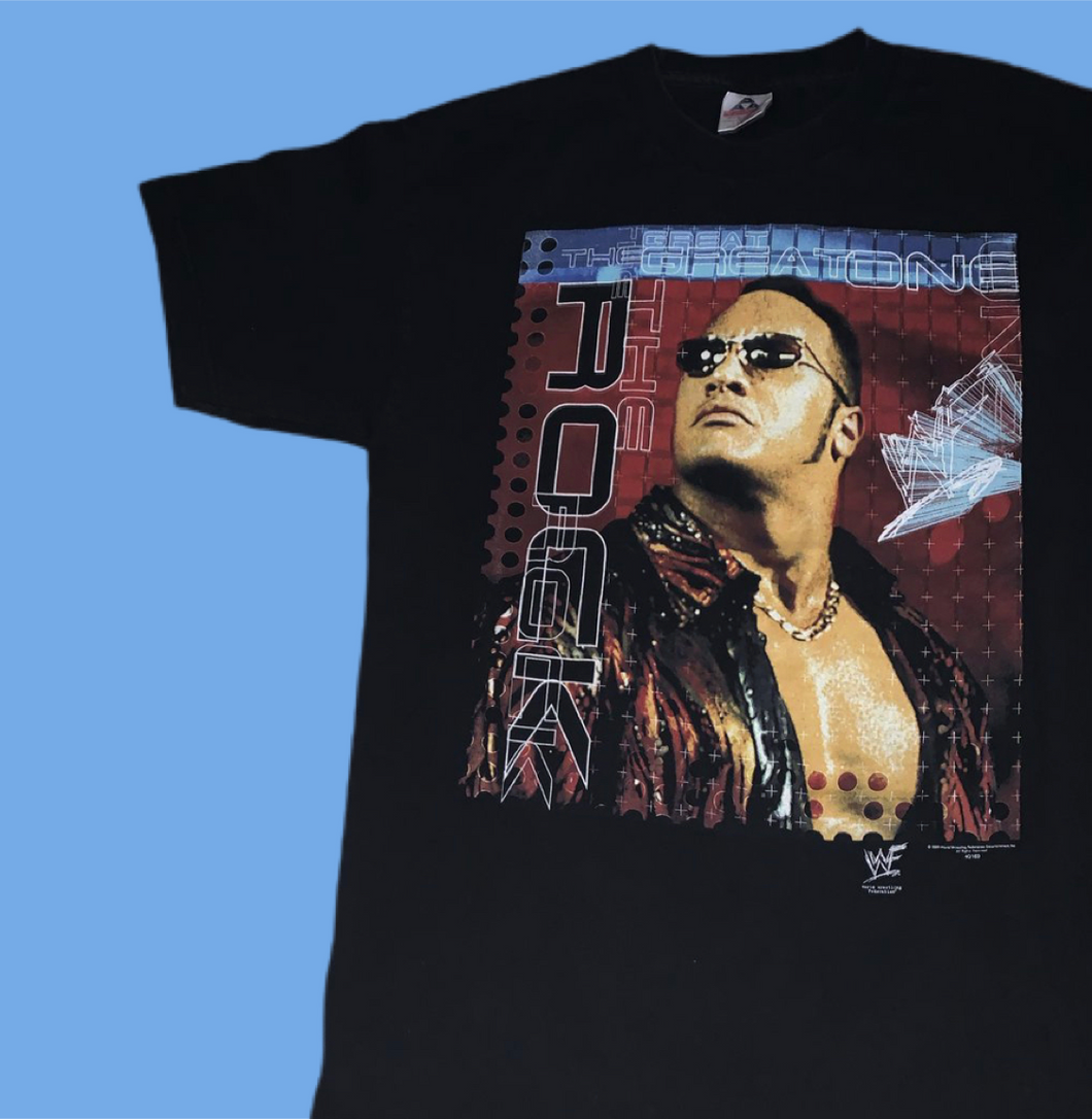 WWF The Rock 'Great One' Tee
