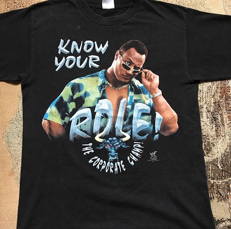The Rock Know Your Role Tee