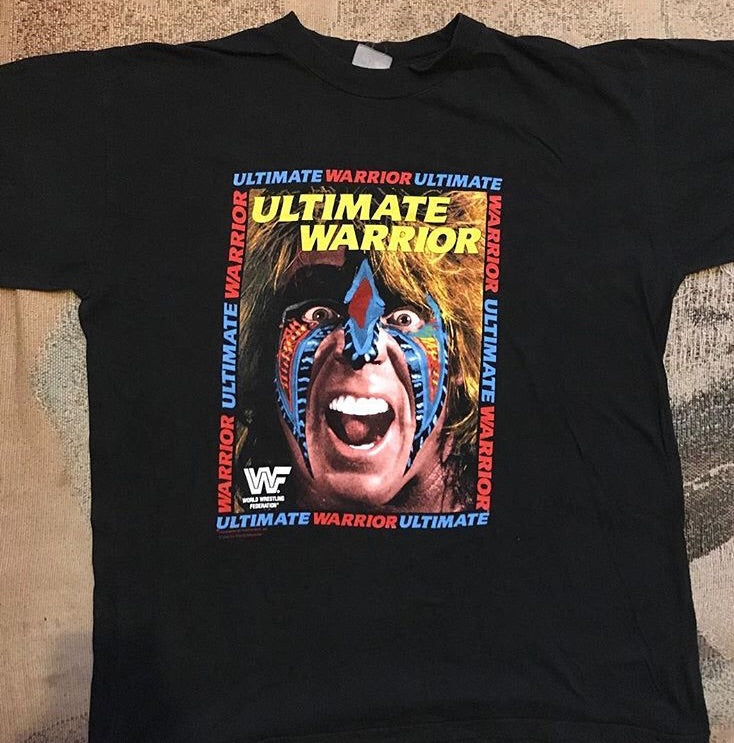 Rare Ultimate Warrior Tee