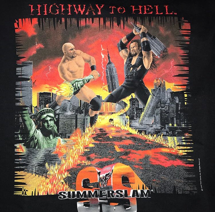 Summerslam Highway To Hell Tee