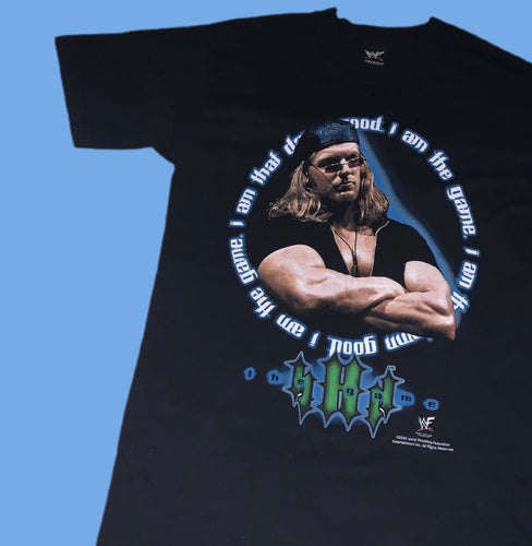 WWF Triple H 'I Am The Game' Tee