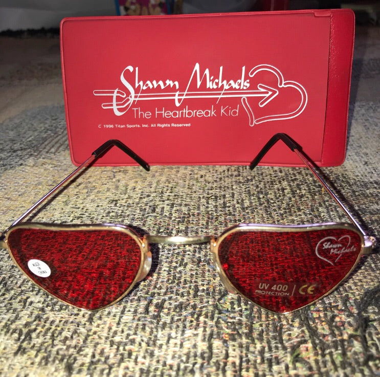 Shawn Michaels Glasses & Case