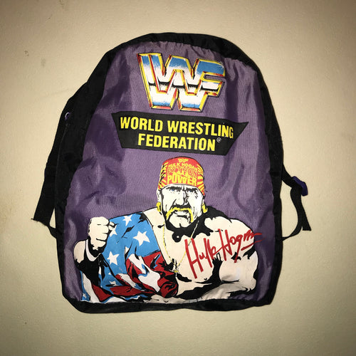Purple Hulk Hogan Backpack