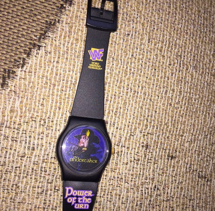 Undertaker Wrist Watch