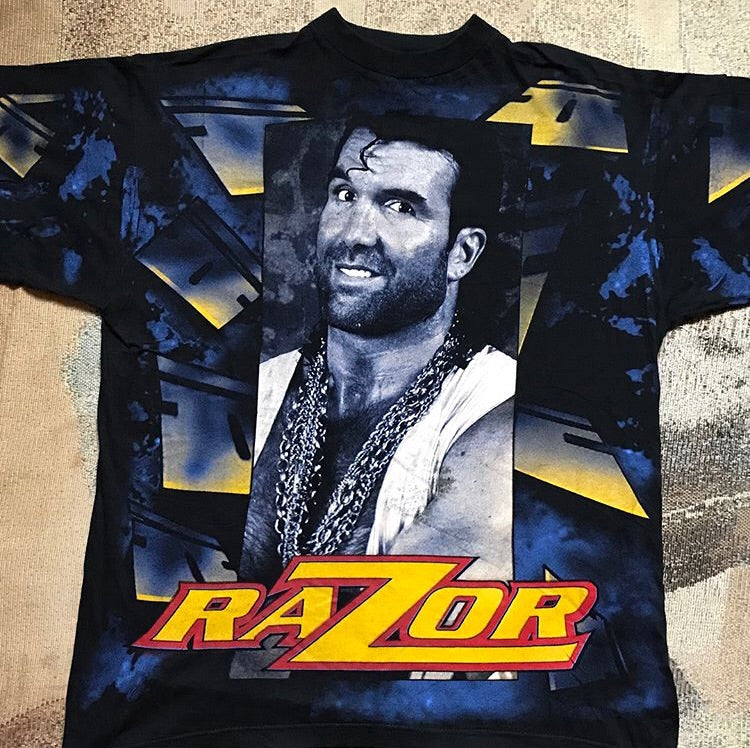 Razor Ramon All Over Print Tee