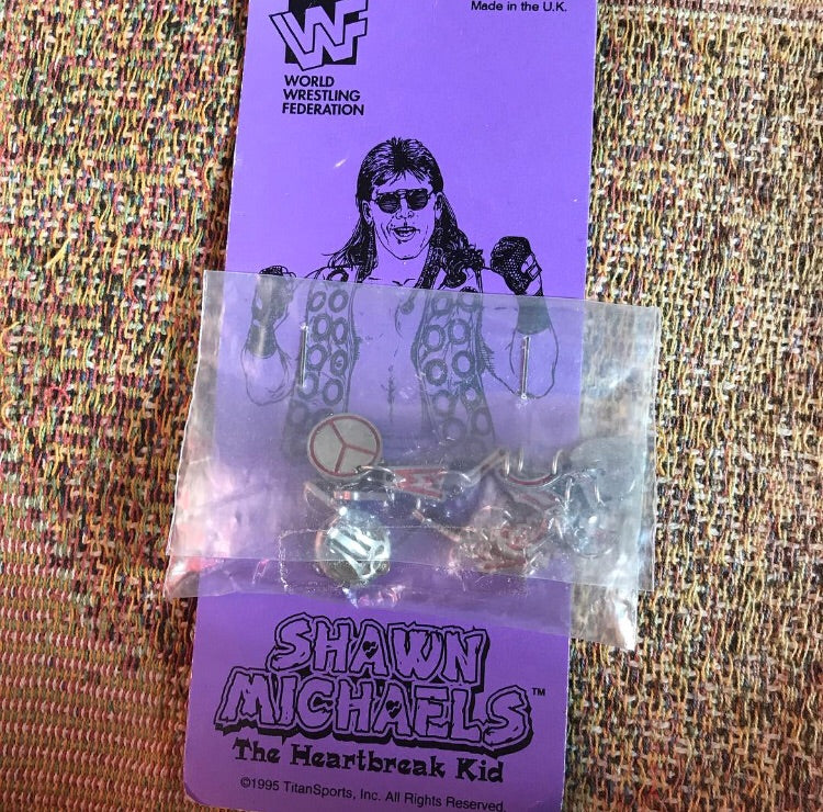 Shawn Michaels Clip On Ear Rings