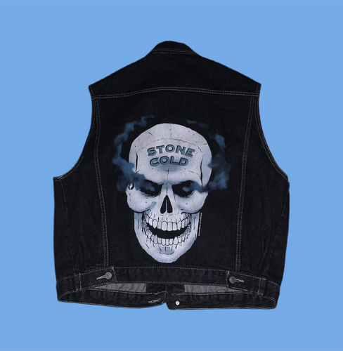 WWF 1997 Stone Cold Denim Vest