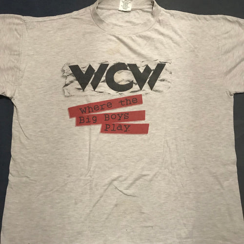 WCW 'Where The Big Boys Play' Tee