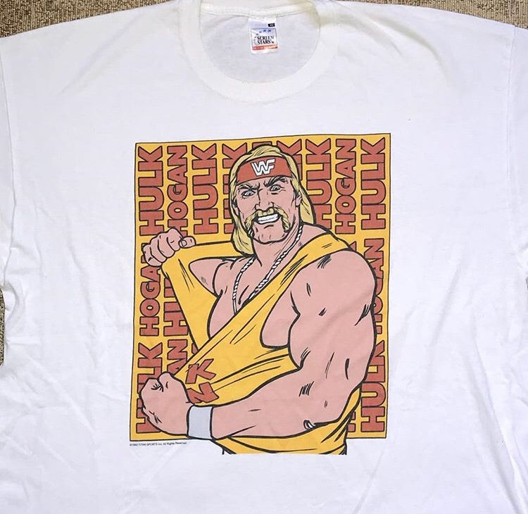 Hulk Hogan Cartoon Tee