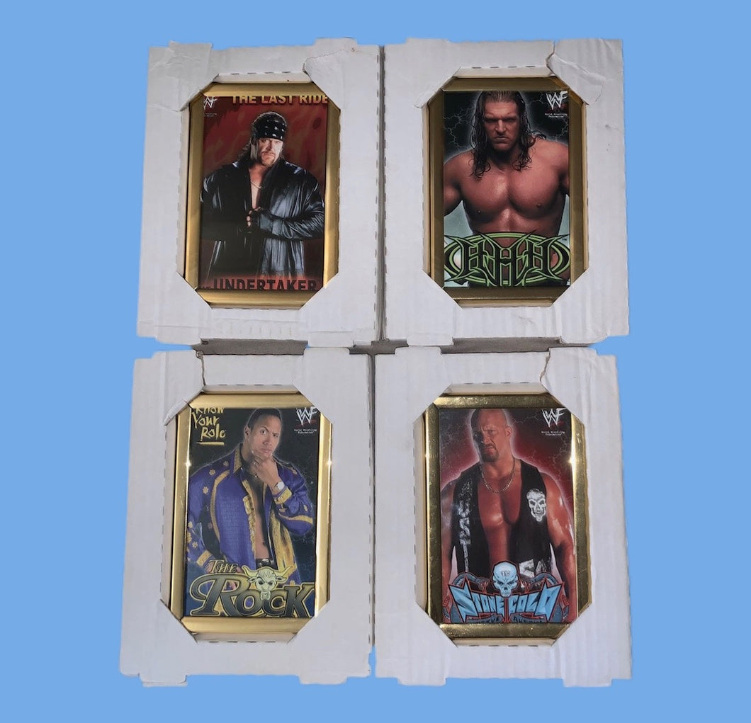 4 WWF Framed Photos