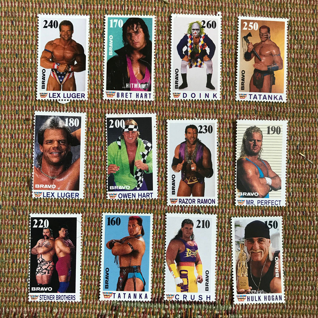 WWF German Fan Club Stamps