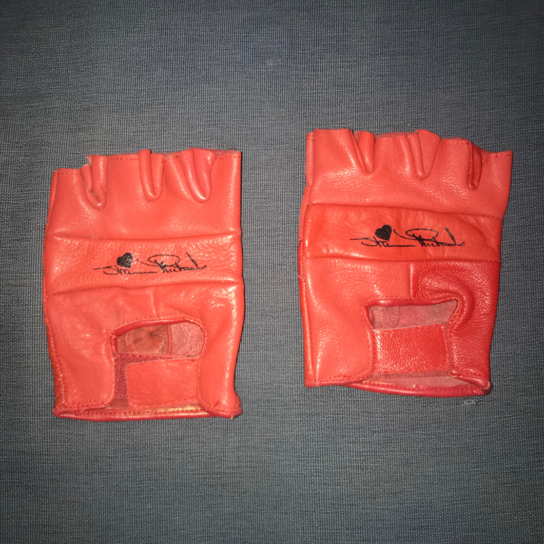 Shawn Michaels Leather Gloves