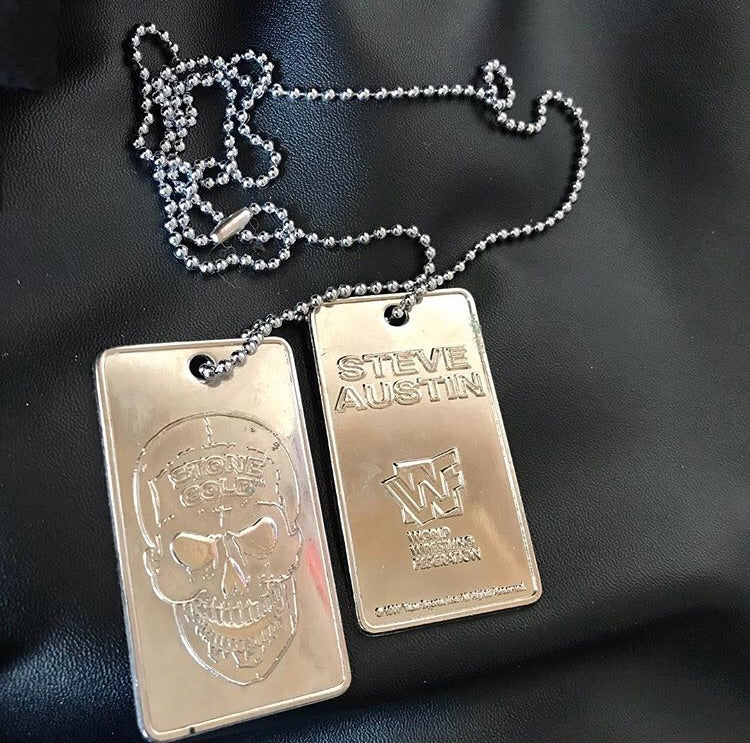 Stone Cold Dog Tags