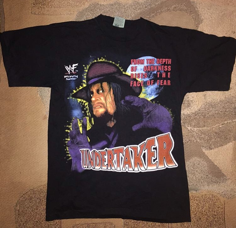 Deadstock Undertaker Face Of Fear Tee