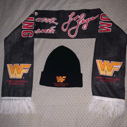WWF Beenie Hat + Scalf Bundle