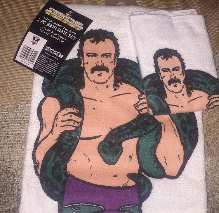 Jake The Snake Towel Set