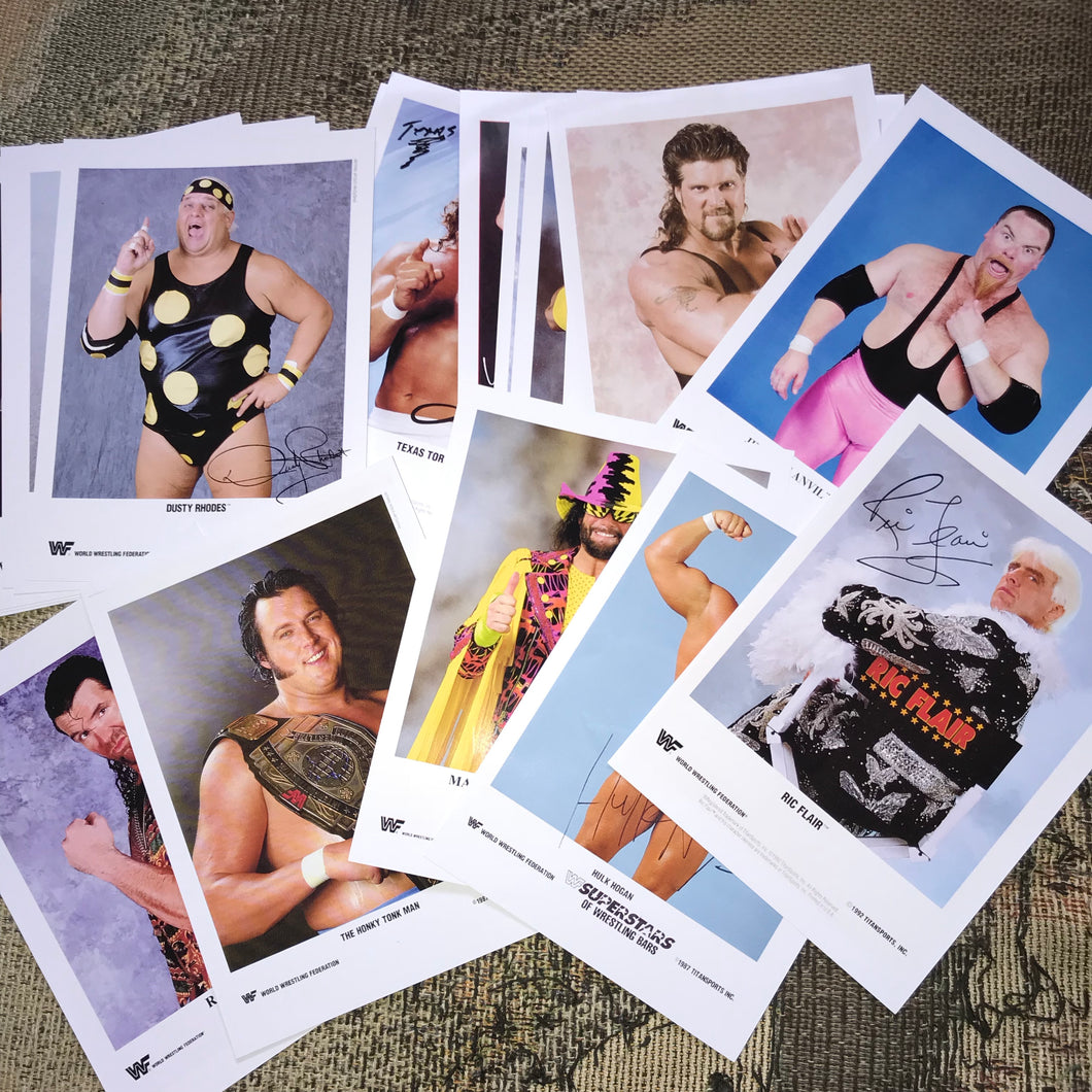 26 WWF Photographs (Reprints)