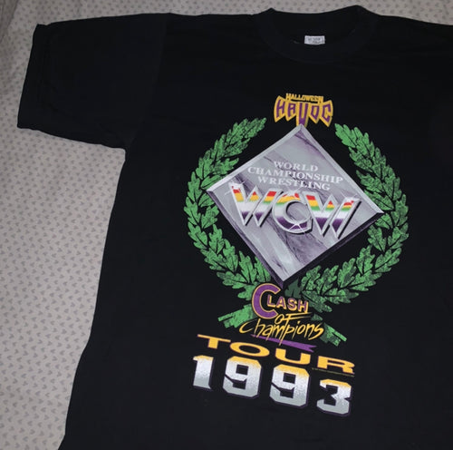 WCW Clash Of Champions 93 Tee
