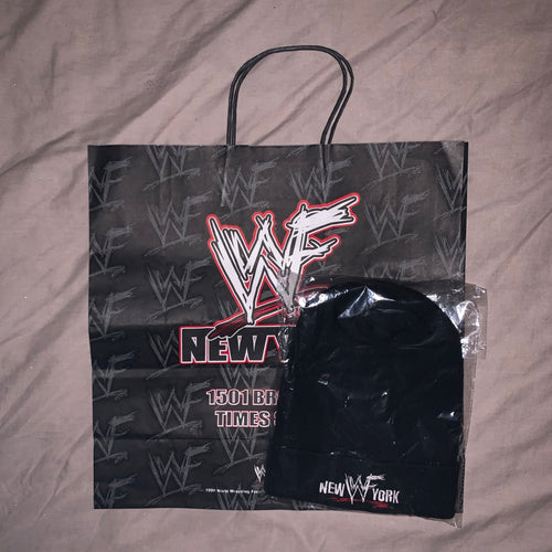 WWF New York Beenie Hat + Bag