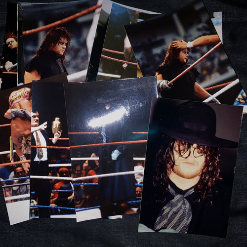 10 Original Undertaker Photographs