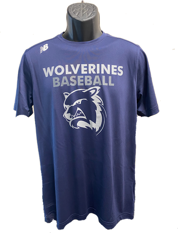 New Balance Wolverines Short Sleeve Tee