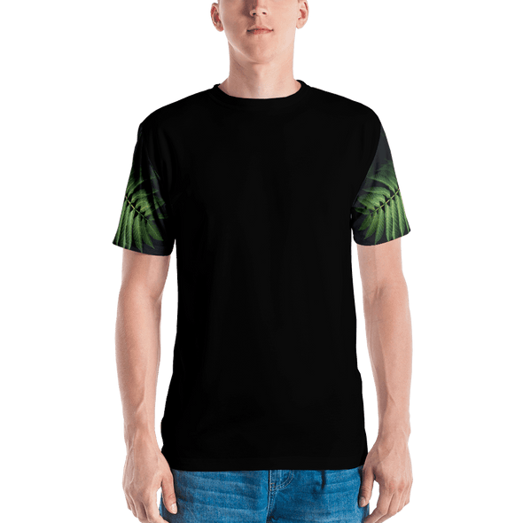 Leaf Sleeve All Over T-Shirt